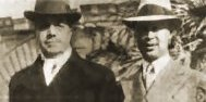 Serge Diaghilev and Sergei Prokofiev