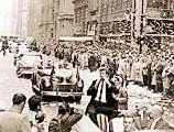 Van Cliburn Ticker tape parade